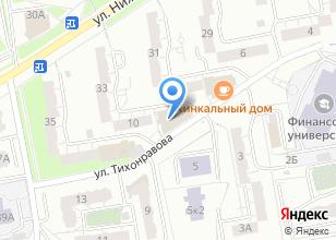 Компания «Медицинский центр Здоровье+ на Тихонравова» на карте