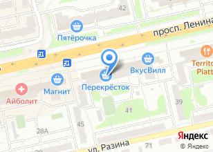 Компания «Л-МЕД» на карте