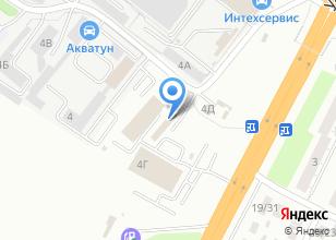 Компания «Акватун» на карте