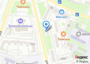 Компания «Красный робот» на карте