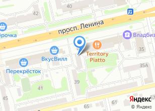 Компания «Часы» на карте