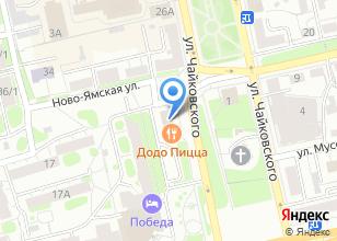 Компания «Моё Солнышко» на карте