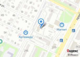 Компания «ВСЕ АНТЕННЫ» на карте