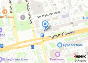 Компания «Путевка» на карте