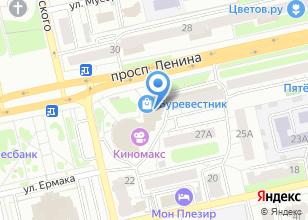 Компания «Спецтехникпарк» на карте