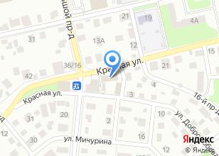 Компания «Строительные материалы на Красной» на карте