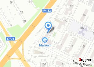 Компания «Интер Мода» на карте