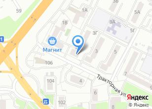 Компания «Авангард» на карте