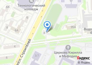 Компания «Белодор» на карте