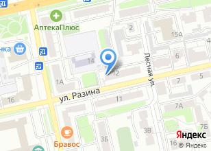 Компания «Отделочник 33» на карте