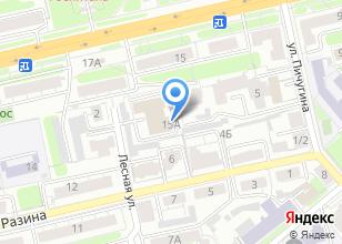 Компания «Альткон» на карте