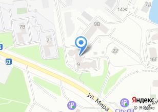 Компания «Bricks» на карте