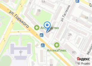 Компания «ГК Двери» на карте