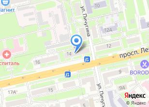 Компания «РФК» на карте
