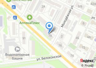 Компания «Полцены» на карте