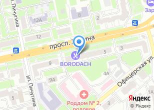 Компания «Borodach» на карте