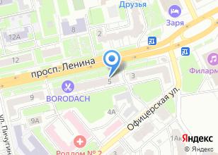 Компания «Диагноз» на карте