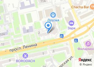 Компания «Техносэконд» на карте
