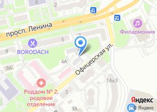 Компания «Котельная №125» на карте