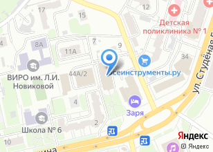 Компания «Атеми» на карте