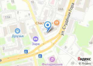 Компания «Школа профессионального макияжа Галины Зайцевой» на карте