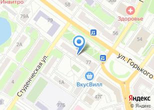 Компания «Руша» на карте