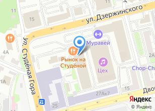 Компания «ТеплоЭнергоСтройСервис» на карте