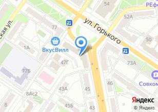 Компания «Бюро недвижимости и права» на карте