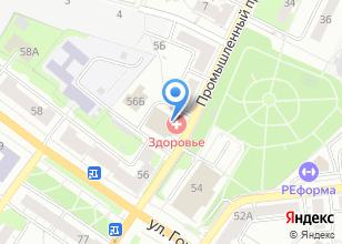 Компания «Рестарт» на карте