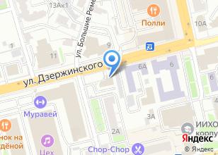 Компания «Квадрум33» на карте