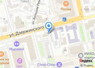 Компания «Агентство дизайна и рекламных технологий» на карте