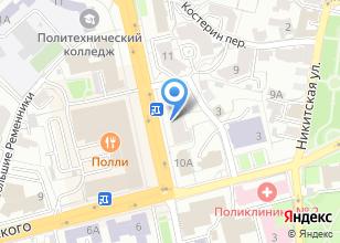 Компания «Лэна-Дент» на карте