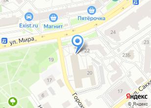 Компания «Ростелеком для дома» на карте
