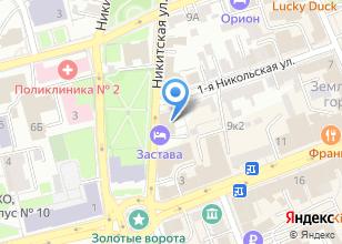 Компания «Мир антенн» на карте