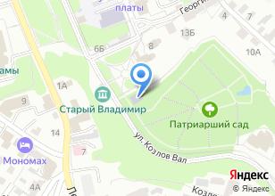 Компания «Патриарший сад» на карте