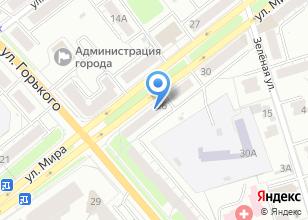 Компания «ОртоЦентр» на карте