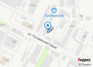 Компания «Мастер33» на карте