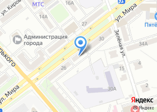 Компания «Фокус Авто» на карте