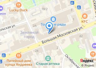Компания «Гусевской хрустальный завод им. Мальцова» на карте