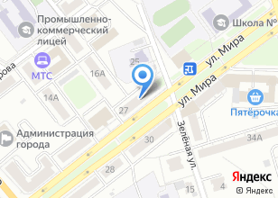 Компания «Здравница» на карте