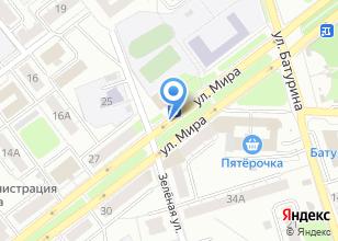Компания «Центр Профилактики и реабилитации» на карте