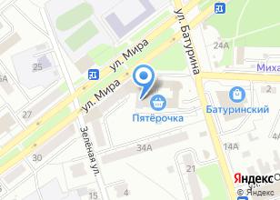 Компания «ТестКомпакт» на карте