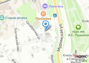 Компания «Кресты и Ограды» на карте