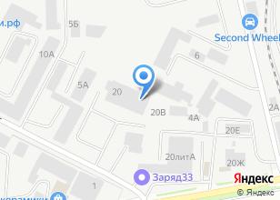 Компания «Remontauto33» на карте