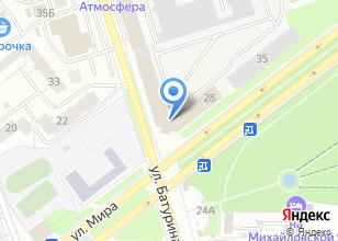 Компания «Электроприбор-Опора» на карте
