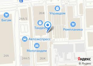 Компания «Кронос Крепёж Плюс» на карте