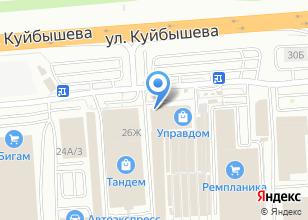 Компания «Инлайт» на карте