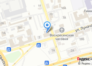 Компания «Ресторанные технологии» на карте