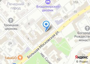 Компания «Столовая УВД» на карте