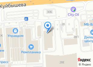 Компания «Декоретта» на карте